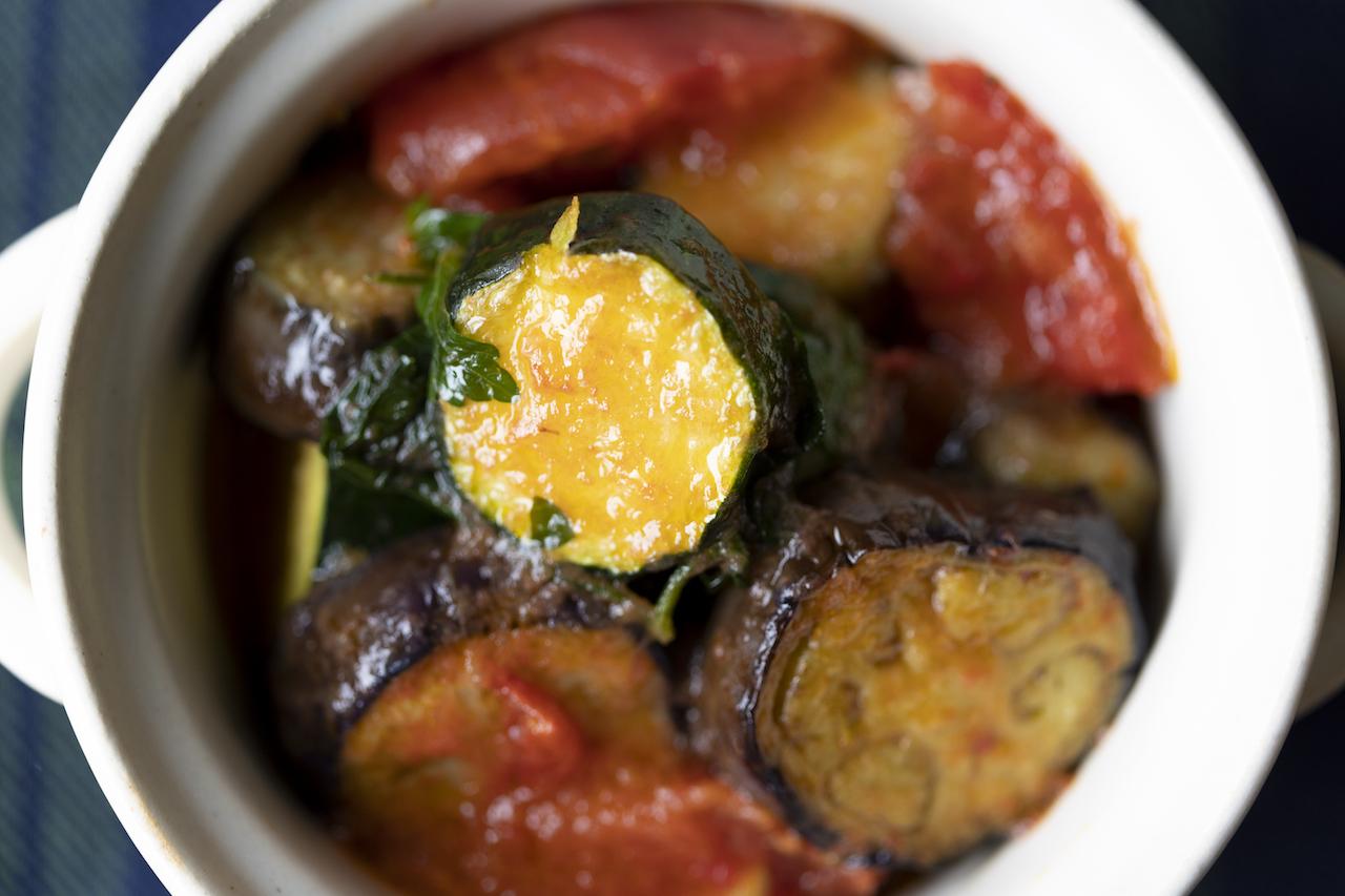 夏野菜のエチュべ